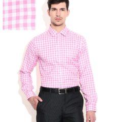 Wills-Lifestyle-Hot-Pink-Slim-Shirt
