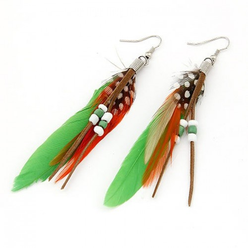 Jeweltouch-Mysterious-Green-Feather-Decorated-FD