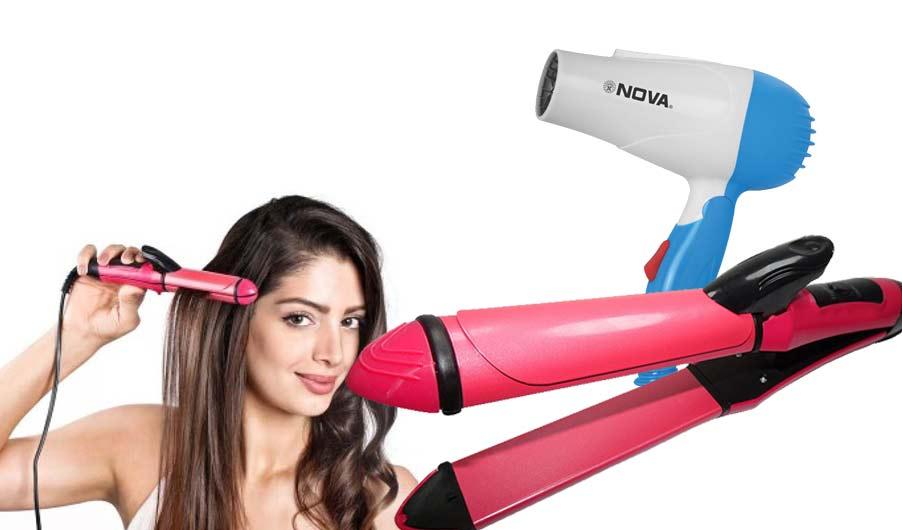 Beauty-care-hair-Dryer-Straightner