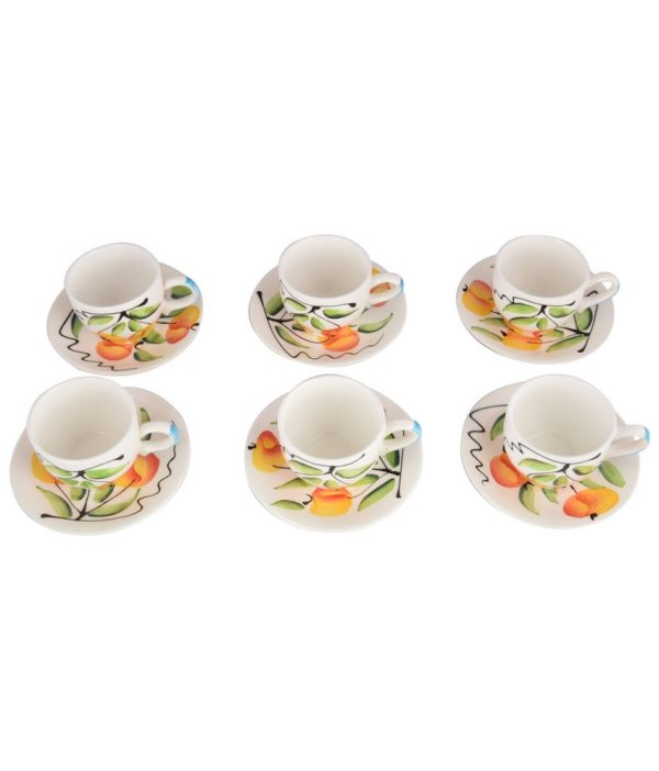 Stoneware Cup & Saucer1 - 12 Pieces