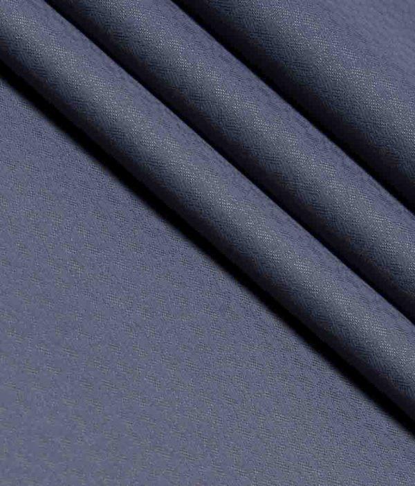 Tbc - The British Corporation Poly Blend Blue Party Wear Unstitched Trouser