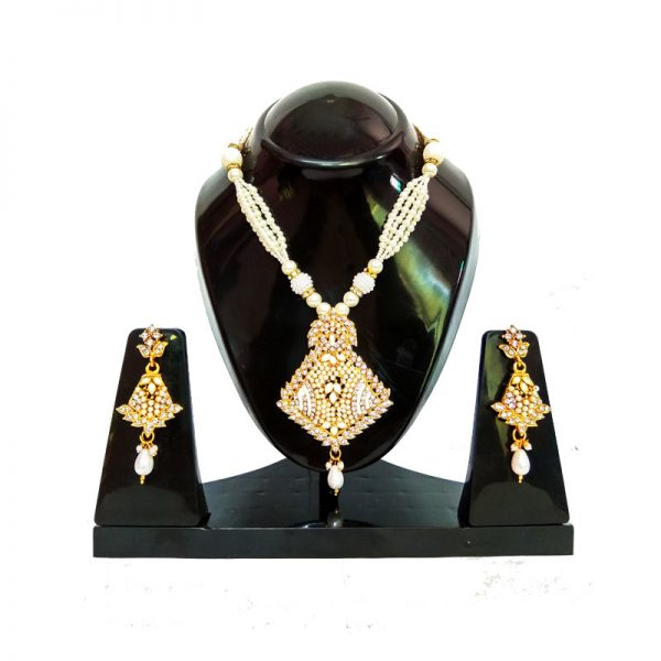 Gold Plated Perfect Pearl Set