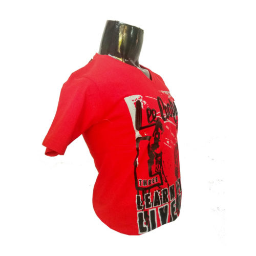Lee-Copper--Red-Tshirt-with-Screen-Print-Side