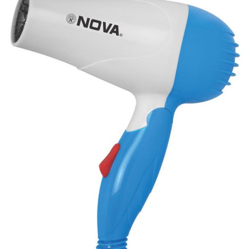 NOVA-1000W-Foldable-Hair-Dryer-NV1290-blue
